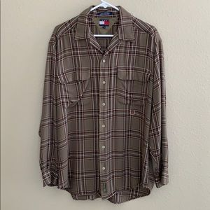 Men's Tommy Hilfiger plaid shirt